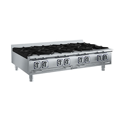 Electrolux 169003 NG 48-in  Countertop Boiling Top Hot Plate, Stainless, NG