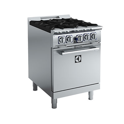 "Electrolux 169004 24"" 4-Burner Gas Range, NG"