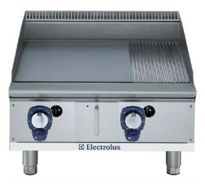 Electrolux 169017 NG 24-in  Ribbed Griddle w/ Manual Controls, Stainless, NG