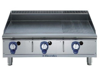 Electrolux 169018 NG 36-in  Ribbed Griddle w/ Manual Controls, Stainless, NG