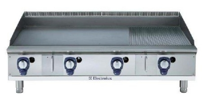 Electrolux 169019 NG 48-in  Ribbed Griddle, 22.8KW, Stainless, NG