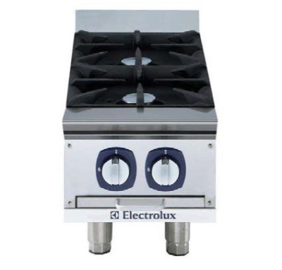 Electrolux 169034 NG 12-in Hotplate w/ Manual Controls, Stainless, NG