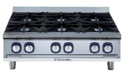Electrolux 169036 NG 36-in Boiling Top Hotplate w/ Safety, Stainless, NG