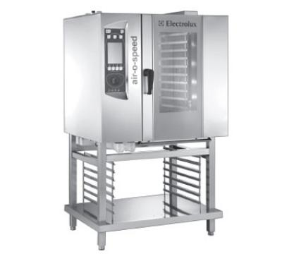 Electrolux 260573 Air-O-Speed Combi Oven Half Size 10 Pan Convection/Steam 208/3 23 kw Restaurant Supply