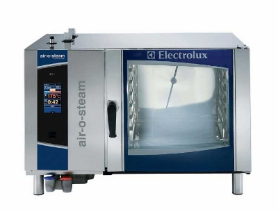 Electrolux 267751 NG Full Size Combi Oven Steamer, Touch Control, 6-Pan, NG