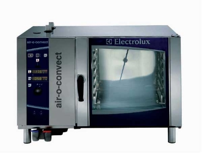 Electrolux 269751 NG Full Size Convection Oven Steamer, 11-Settings, 6-Pan, NG