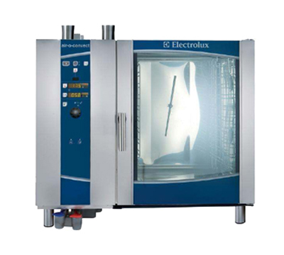 Electrolux 269753 NG Single Full-Size Combi-Oven, Boilerless, NG