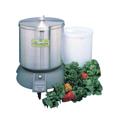 Electrolux 9R0011 Vegetable Dryer - 20-gal Capacity, Floor Model, Stainless-Polyethylene 220v