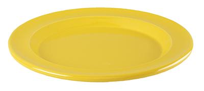 Emile Henry 038870 8-in Salad Dessert Plate, Ceramic, Citron