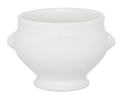 Emile Henry 056600 19-oz Soup Bowl, 5-in, Ceramic, Blanc