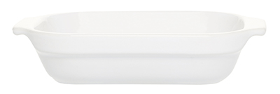 Emile Henry 059609 85-qt Lasagna Dish, 7-in, Ceramic, Blanc