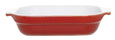 Emile Henry 339609 85-qt Lasagna Dish, 7-in, Ceramic, Cerise