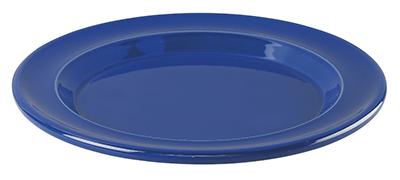 Emile Henry 538870 8-in Salad Dessert Plate, Ceramic, Azur