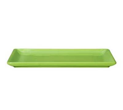 Emile Henry 754488 Urban Buffet Plate, 6 x 10-in, Ceramic, Green Apple