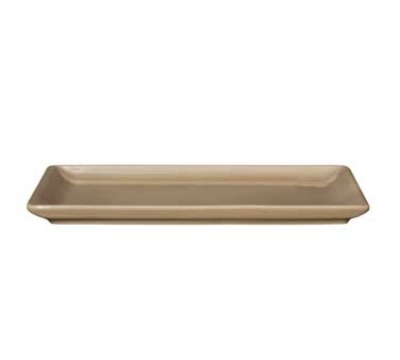 Emile Henry 964488 Urban Buffet Plate, 6 x 10-in, Ceramic, Sand