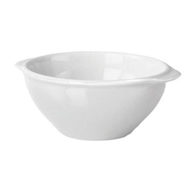 Emile Henry 052100 17-oz Gratinee Bowl, 5.5-in, Ceramic, Blanc