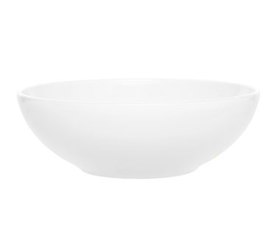 Emile Henry 052130 5-qt Salad Bowl, 12-in, Ceramic, Blanc