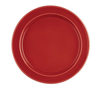 Emile Henry 338878 11-in Dinner Plate, Ceramic, Cerise