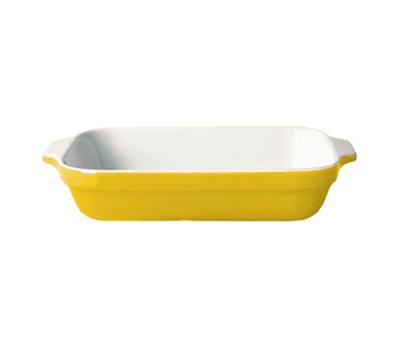 Emile Henry 039609 85-qt Lasagna Dish, 7-in, Ceramic, Citron