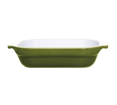 Emile Henry 879609 85-qt Lasagna Dish, 7-in, Ceramic, Olive