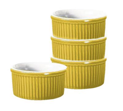 Emile Henry 039840 3.5-in Ramekin, Ceramic, Citron