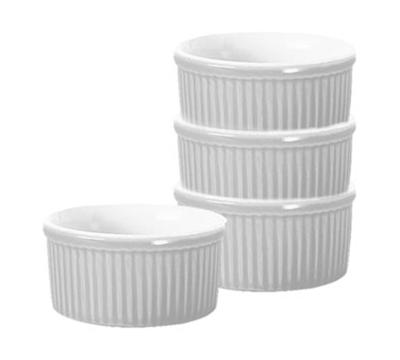 Emile Henry 059840 3.5-in Ramekin, Ceramic, Blanc