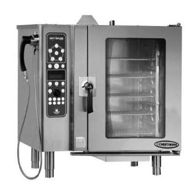 Alto Shaam 10-10ESG/STD NG Combi Oven Stea