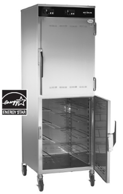 Alto Shaam 1200-UP/SR 2301 Double Compartment Holding Cabinet, Heated, Stainless, Export