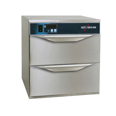 Alto Shaam 5002DN 2-Drawer Narrow Warmer, Adjustable Thermostat, Stainless, cUL, CE