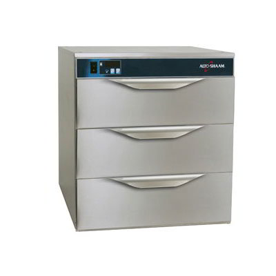 Alto Shaam 500-3D 3-Drawer Warming Unit, Solid State Controls