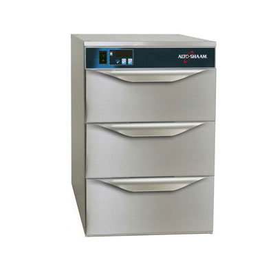 Alto Shaam 5003DN 3-Drawer Narrow Warmer, Adjustable Thermostat, Stainless, cUL, CE
