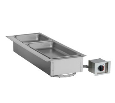 Alto Shaam 100-HW/D443 120 Drop-In Hot Food Well Unit, (1) Full & (3) 1/3-Size Pans, 120 V