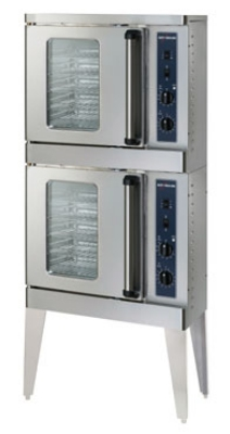 Alto Shaam 2-ASC-2E/STK 2081 Half-Size Convection Oven, Manual Controls, Porcelain, 208/1 V