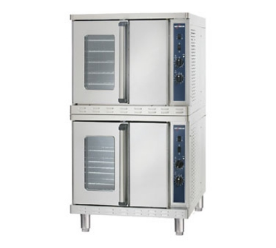 Alto Shaam 2-ASC-4E/STK 2083 Convection Oven w/ Manual Controls, Stacked, Porcelain, 208/3 V