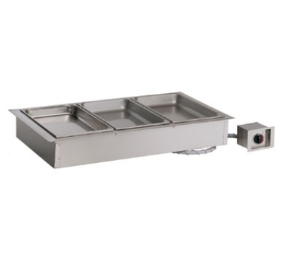 Alto Shaam 300-HW/D4 2301 Drop-In Hot Food Well Unit, 3-Full-Size 4-in Deep Pans, Export