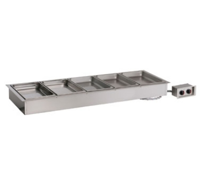 Alto Shaam 500-HW/D6 120 Drop In Hot Food Well Unit, (5) 12 x 20-in Pans, Stainless, 120 V
