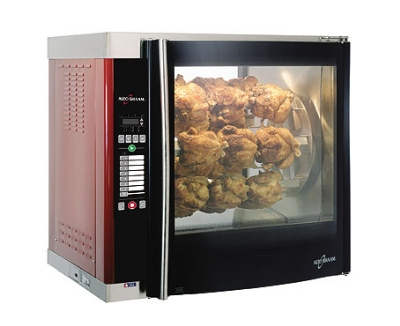 Alto Shaam AR-7E-SGLPANE 3803 Rotisserie Oven w/ Single Pane Flat Glass Door, Stainless, Export
