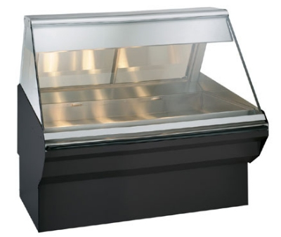 Alto Shaam EC2SYS-48/P-BLK Self Service Heated Display Case, 48-in, Black