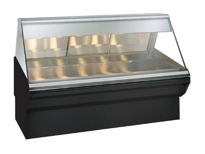 Alto Shaam EC2SYS-72/P-BLK Self Service Heated Display Case, 72-in, Black
