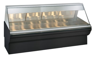 Alto Shaam EC2SYS-96/PR-SS Full & Self Service Heated Display Case, 96-in, Stainless