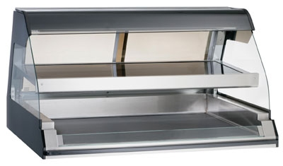 Alto Shaam ED2-48/2S-SS 2081 Self Service Heated Two Tier Display Case, 48-in, Stainless Export