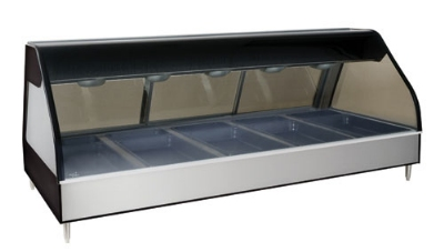 Alto Shaam ED2-72/PR-SS Self & Full Serve Heated Display Case, 72-in, Stainless