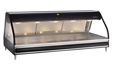 Alto Shaam ED2SYS-72-SS Full Service Heat Display Case, European Base, 72-in, Stainless
