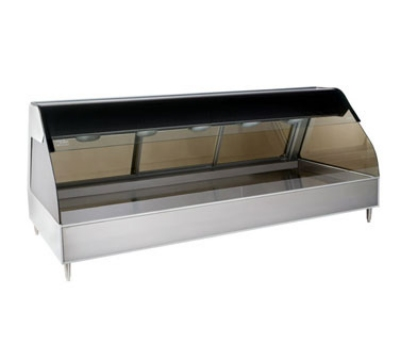 Alto Shaam ED2SYS-72/P-SS Display Case w/ European Style Base, Self, 72-in, Stainless