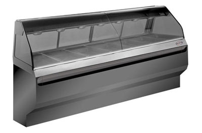 Alto Shaam ED2-96-C Full Service Heated Display Case, Countertop, 96-in, Custom