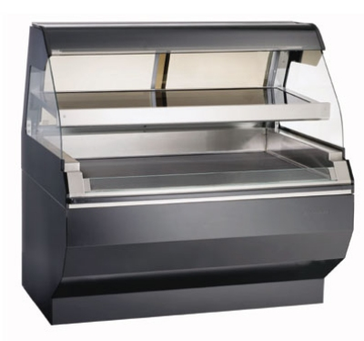 Alto Shaam ED2SYS-48/2S-SS 2081 2-Tier Display Case w/ European Base, 48-in, Stainless, Export