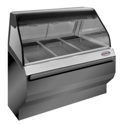 Alto Shaam ED2SYS-48-SS Full Service Heat Display Case, European Base, 48-in, Stainless