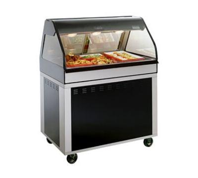 Alto Shaam EU2SYS-48-C Full Serve Hot Deli Cook Hold Display, 48-in, Custom Color