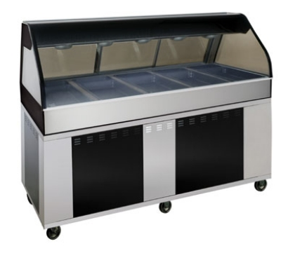 Alto Shaam EU2SYS-72/PL-C Hot Deli Cook Display, 2-ft Self Left Side, 72-in, Custom