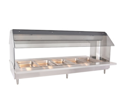 Alto Shaam HFT2-500 2301 Countertop Hot Food Table w/ 72-in width, (5) 1/1 GN, Export